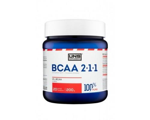 100% BCAA 2:1:1 200g UNS