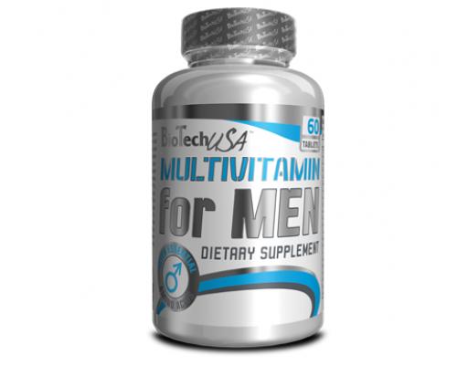 Multivitamin for Men 60 tabs (Men's Performance) BioTech