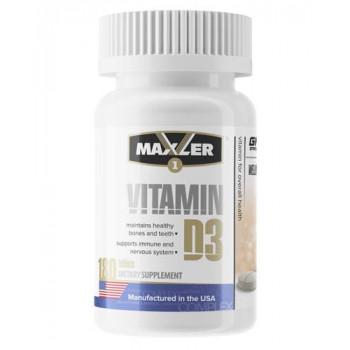 Vitamin D3 180 tabs Maxler