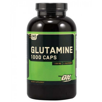 Glutamine caps 1000mg 240 капс ON