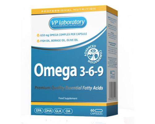Omega 3-6-9 60caps VPlab