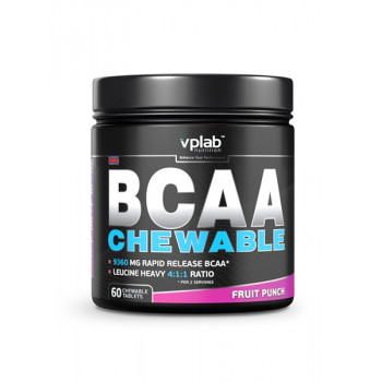 BCAA жевательные таблетки 60 tab VP lab