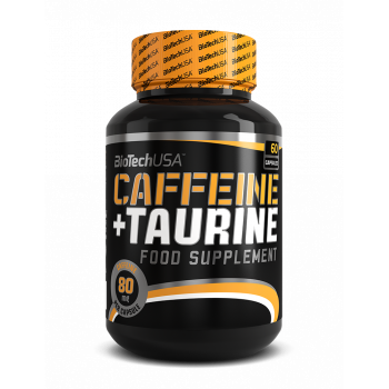 Caffeine and taurine power force 60caps Biotech