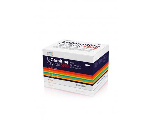 L-Carnitine Crystal 5000 60ml Liquid & Liquid