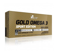 Gold Omega 3 sport 120caps Olimp