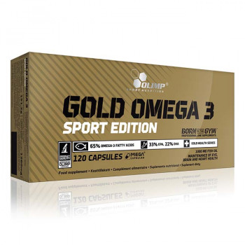 Gold Omega 3 Sport Edition Olimp 120 caps