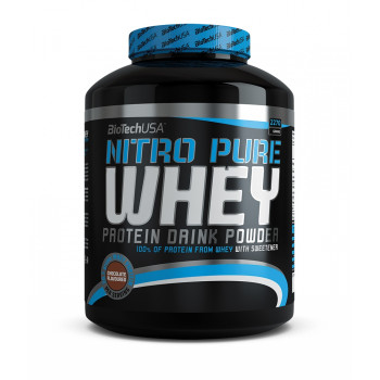 Nitro Pure Whey Gold 2270г банка BioTech