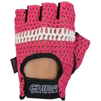 Перчатки Chiba Athletes Choice унисекс Розовый (40527)