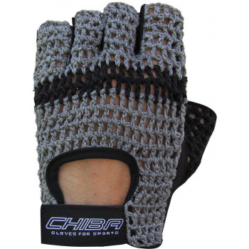 Перчатки Chiba Athletes Choice унисекс Темно серый (40527)