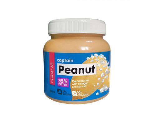 Captain Peanut арахисовая паста с морской солью 250г Chikalab