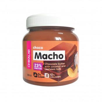 Chikalab Macho шоколадная паста с кокосом и кешью 250 г BombBar