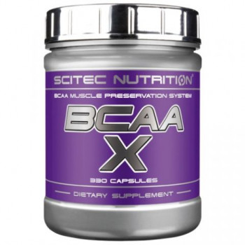BCAA-X 330caps Scitec