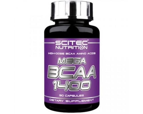 Mega BCAA 1400 90caps Scitec