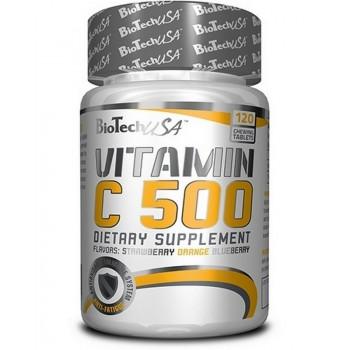 Vitamin C 500 120 chewing tab BioTech