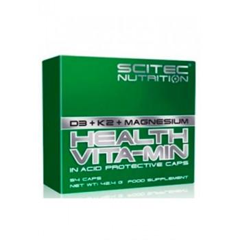 Health Vita-Min (D3,K2,Mg) 54 капс Scitec