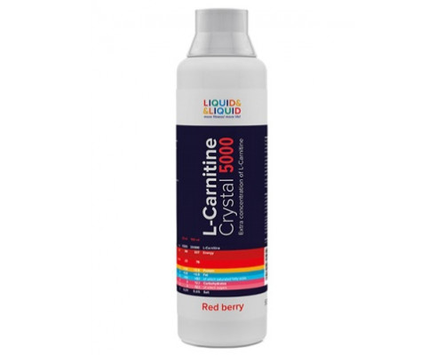 L-Carnitine Crystal 5000 500ml Liquid & Liquid