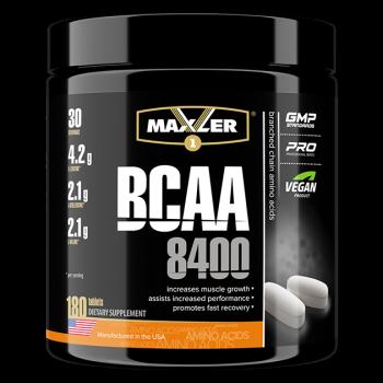 BCAA 8400 180 таб Maxler