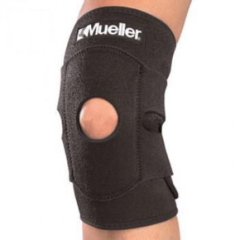 4531 Регулируемый фиксатор колена Adjustable Knee Support. Black.One size
