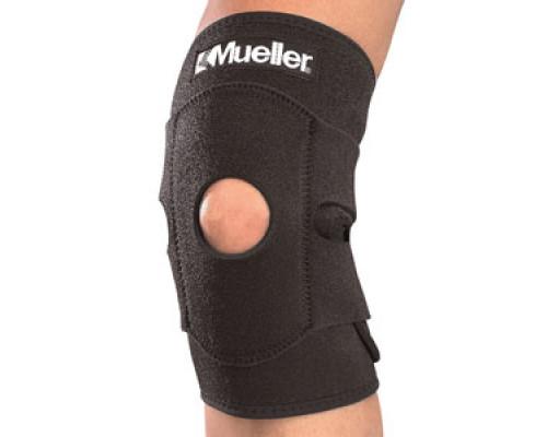 4531 Регулируемый фиксатор колена Adjustable Knee Support Black One size