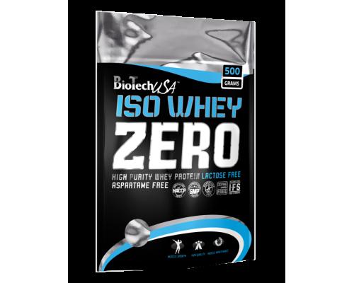 Iso Whey Zero lactose free 500g Biotech