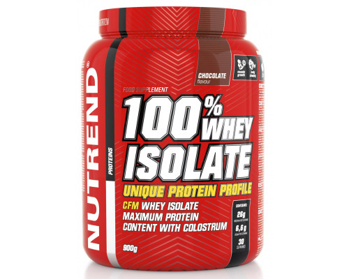 Whey Isolate 900g Nutrend