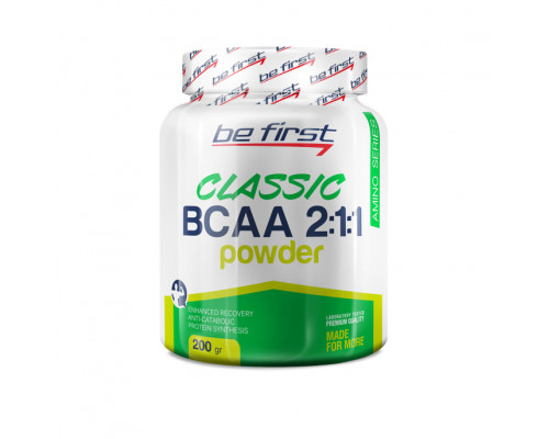 BCAA 2:1:1 classic powder 200г Be First