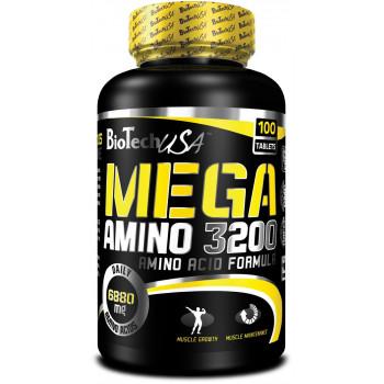 Mega Amino 3200 100tab Biotech