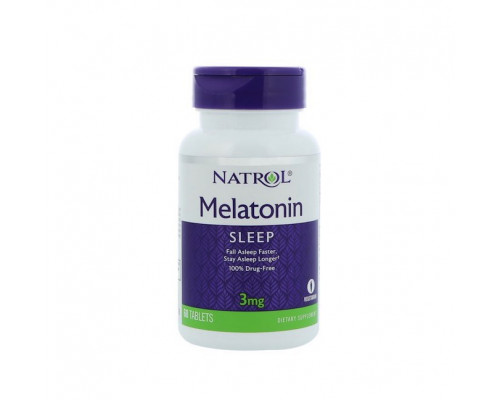 Melatonin 3mg 120tabs Natrol