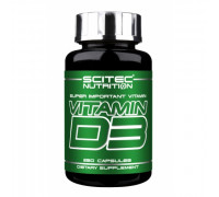 Vitamin D3 250caps Scitec