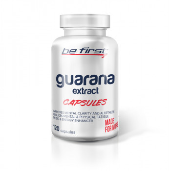 Guarana extract 120caps Be First