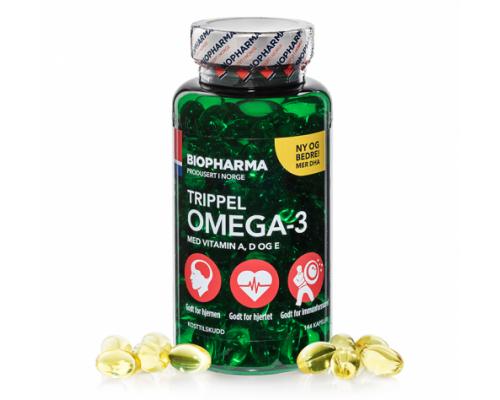 Trippel Omega-3 144 капс Biopharma