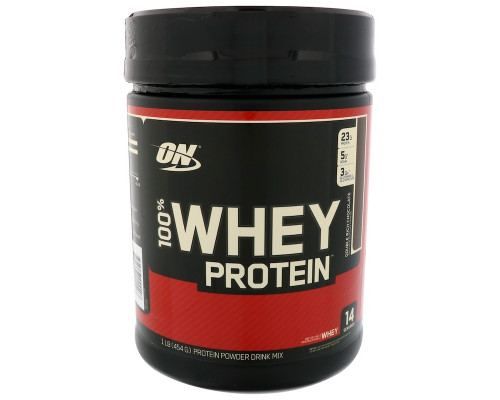 100% Whey protein 454г банка ON