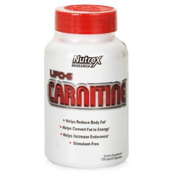 LIPO-6 Carnitine 120 caps Nutrex