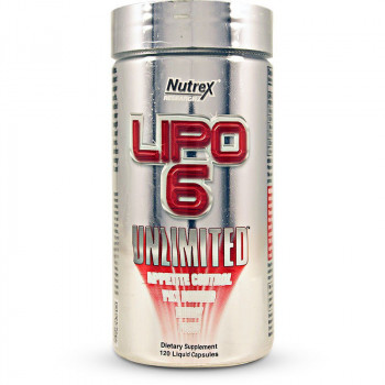 LIPO-6 UNLIMITED 120 CAPS Nutrex