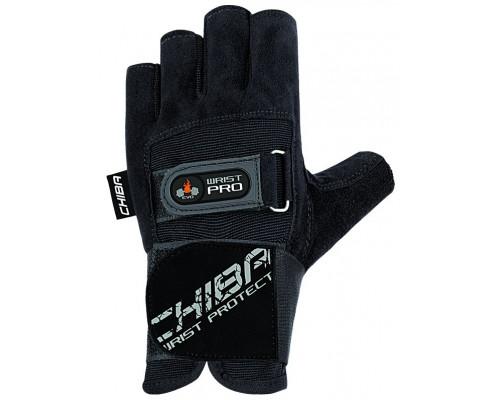 Перчатки Chiba Workout Line Wrist Protect мужские Черный (40134)