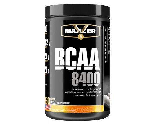 BCAA 8400 360 таб Maxler