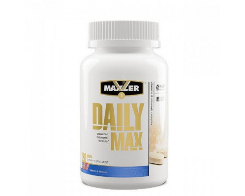 Daily Max 120 табл Maxler