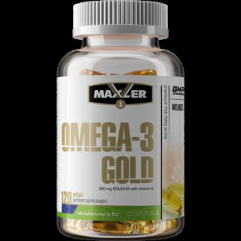 Omega Gold 120 softgels Maxler EU
