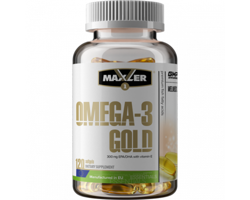 Omega Gold 120 softgels Maxler EU