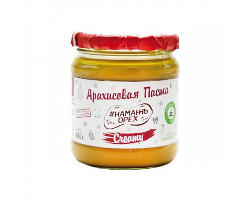 Арахисовая паста 460г Намажь Орех - Creamy