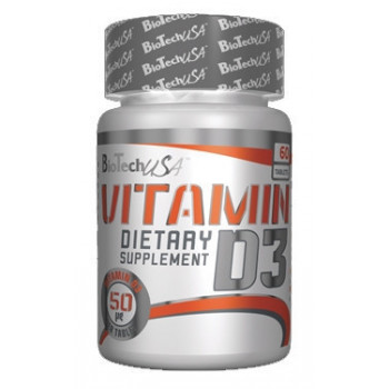 Vitamin D3 60caps Biotech
