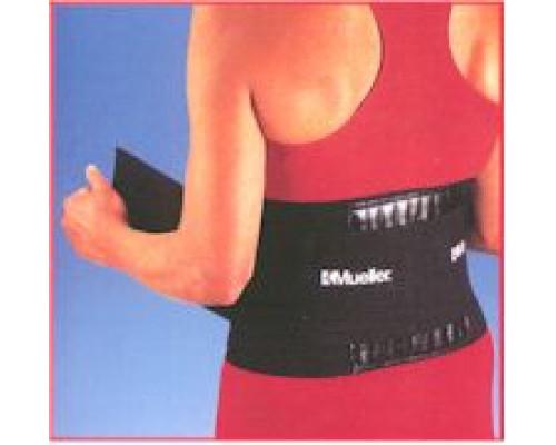 4581 Бандаж на спину Back Brace, черный, один размер