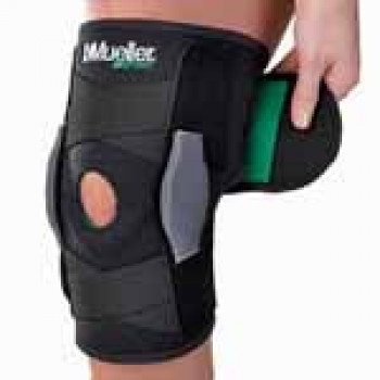 Adjustable Hinged Knee Brace Mueller Green