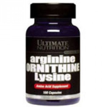 ArginineOrnithineLysine 100кап Ultimate