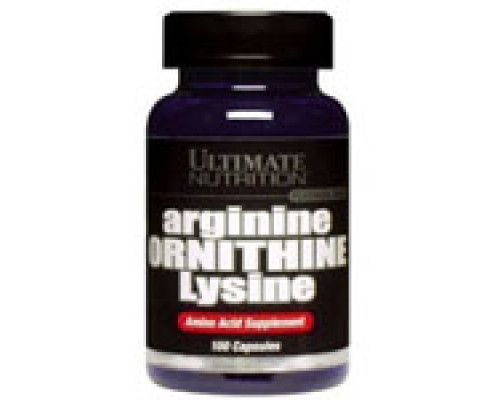 ArginineOrnithineLysine 100кап Ultimate