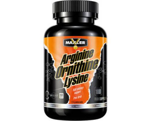 Arginine-Ornithine-Lysine 100 caps Maxler