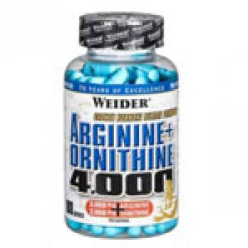Arginine+Ornitine 4000 180капс Weider