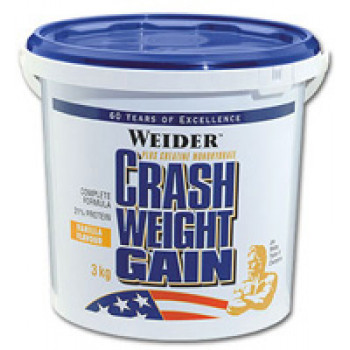 Crash Weight Gain 3 кг банка  Weider