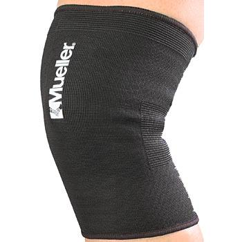 425 Фиксатор колена эластичный Knee Support elastic, black