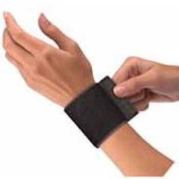 961 Эластичный фиксатор запястья с ремнем Elastic Wrist Support with Loop, Black, One size